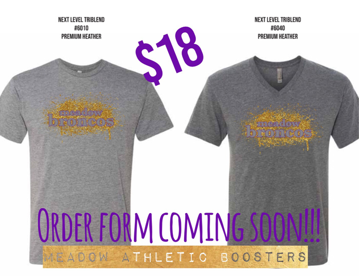 Booster Club T-shirt sale!!
