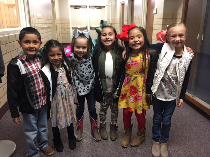 First Grade ready for UIL!