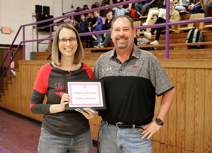 February Secondary Teacher of the Month