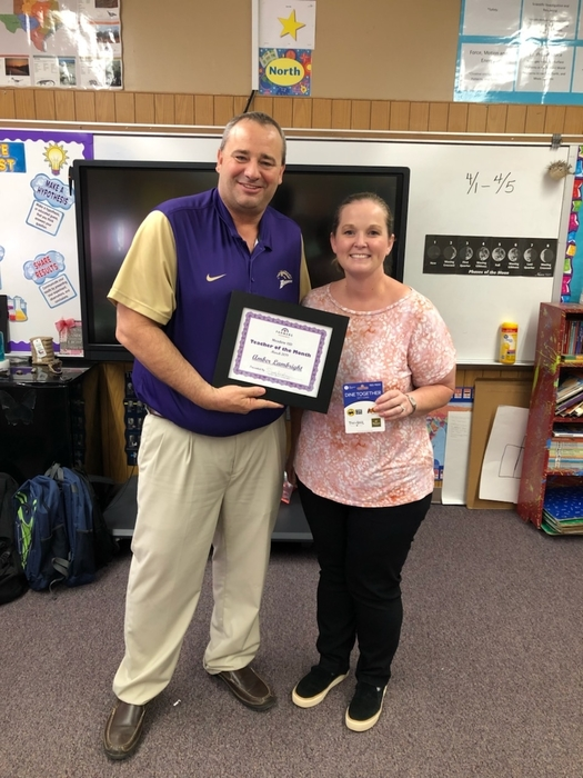 March Teacher of The Month