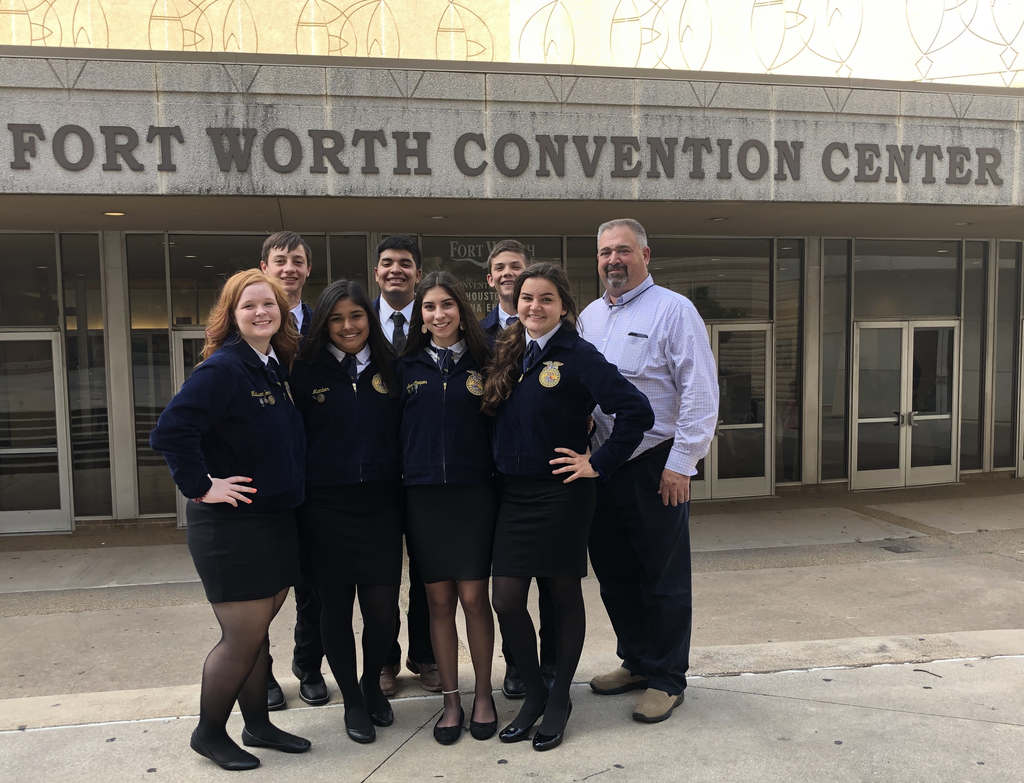 Meadow FFA state convention group