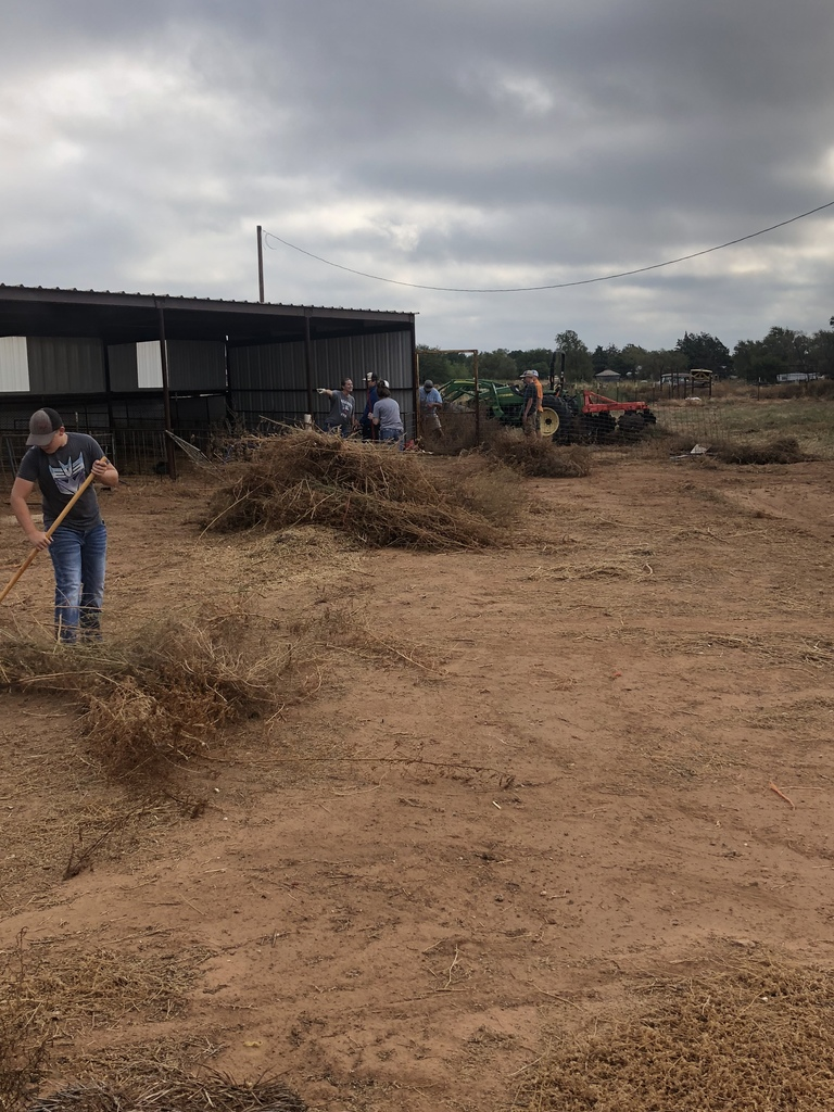 AG Farm clean up day