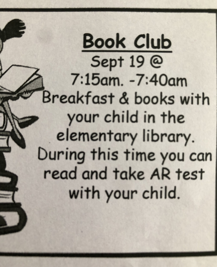 Reminder about Book Club tomorrow morning! We hope to see you there!
